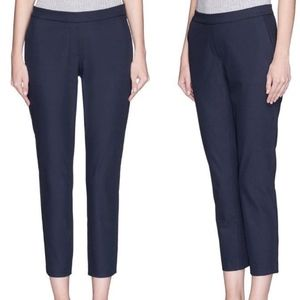 THEORY Thaniel Z2 Trousers Navy Blue